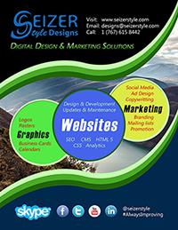 Poster: SeizerStyle Designs 2014