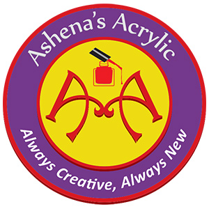 Ashena's Acrylic logo